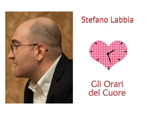 """Seconda edizione per """"Gli Orari del Cuore"""", il libro che ha lanciato Stefano Labbia"""