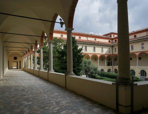 Milano, al Museo Nazionale riqualificati e valorizzati i Chiostri con i Loggiati e Giardini dell'edificio monumentale