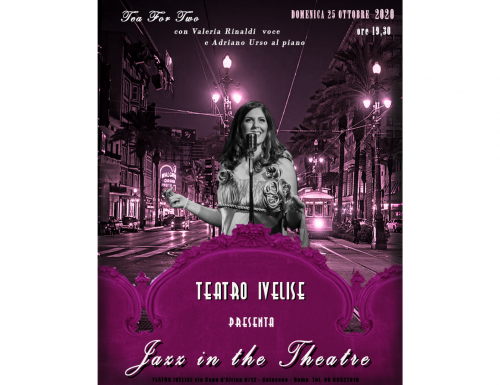 """Jazz in the Theatre"" apre la Nouvelle Saison del Teatro Ivelise"