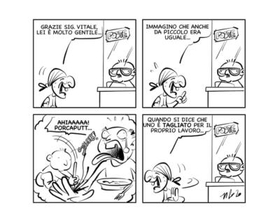 """La vignetta: """"Questione di carattere"""""""
