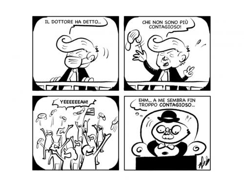 """La vignetta: """"Sicuramente"""""""