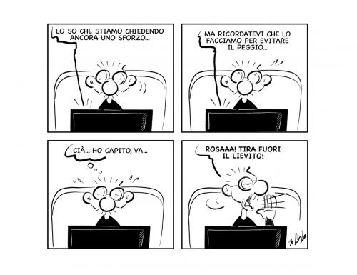 """La vignetta: """"Uhm…"""""""