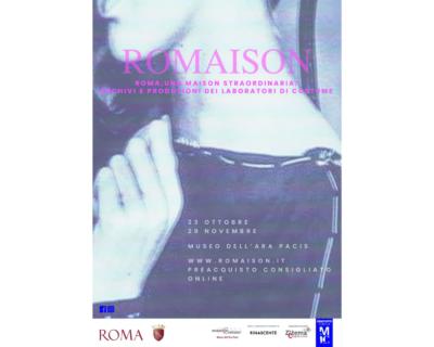 Romaison. Roma, una maison straordinaria: archivi e produzioni dei laboratori di costume