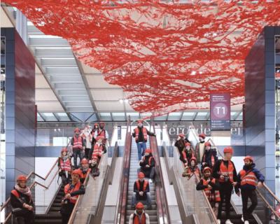 """Il nuovo hub dell'aeroporto Berlino Brandeburgo """"Willy Brandt"""""""
