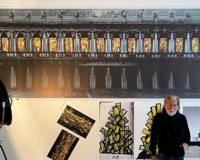 Venezia, Natale digitale e di luce con l'arte di Fabrizio Plessi