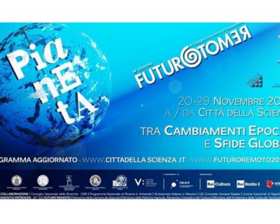 Futuro Remoto 2020, online la 34esima edizione del festival della scienza