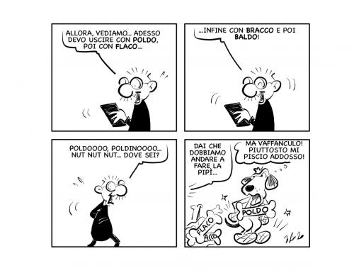 """La vignetta: """"A chi tocca?"""""""