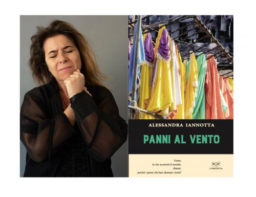 """""""Panni al vento"""", il nuovo libro di Alessandra Iannotta"""