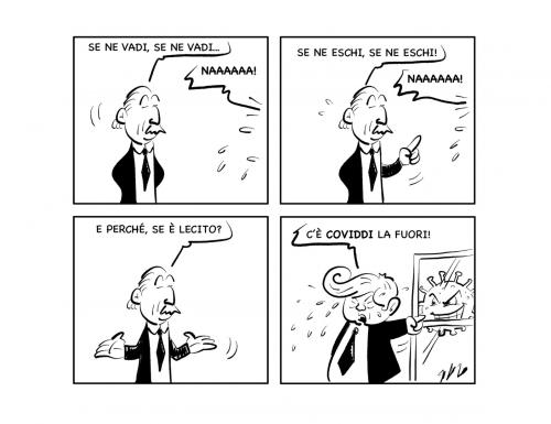 """La vignetta: """"Buaaaaaah!"""""""