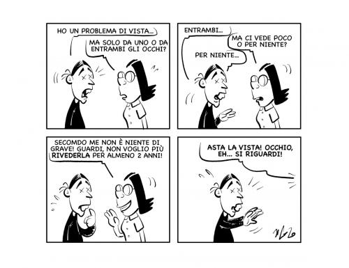 """La vignetta: """"Consigli mirati…"""""""
