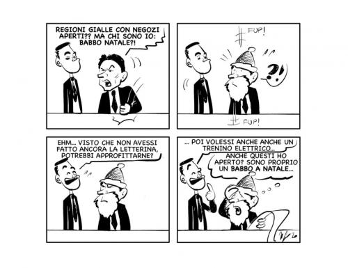"""La vignetta: """"Già che ci siamo"""""""