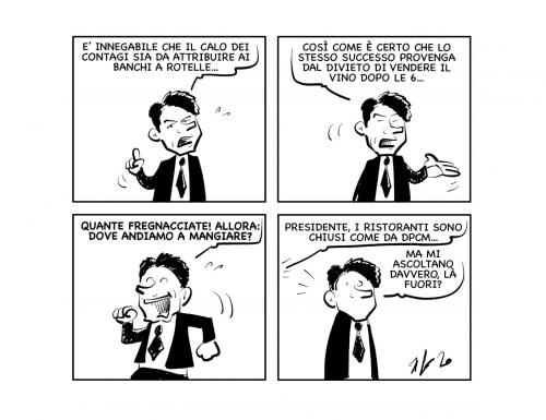 """La vignetta: """"Ma non ditemi che…"""""""