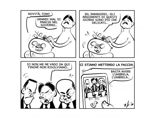 """La vignetta: """"Quando c'è l'impegno…"""""""