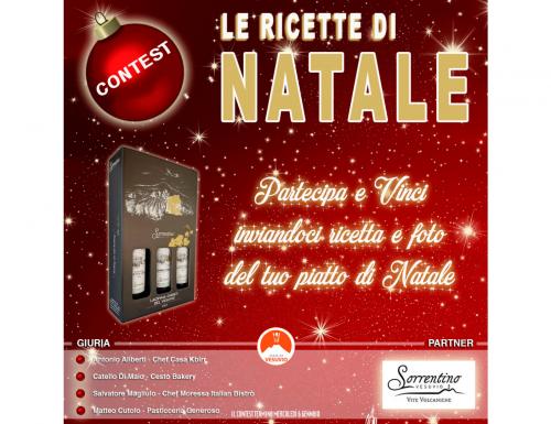 """Taste of Vesuvio, fino al 6 gennaio il contest """"Le Ricette di Natale"""""""