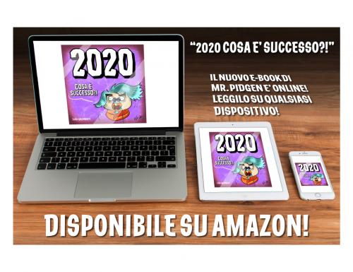 """""""2020, cosa è successo?!"""", l'e-book di Mr. Pidgen e Luca Galimberti"""