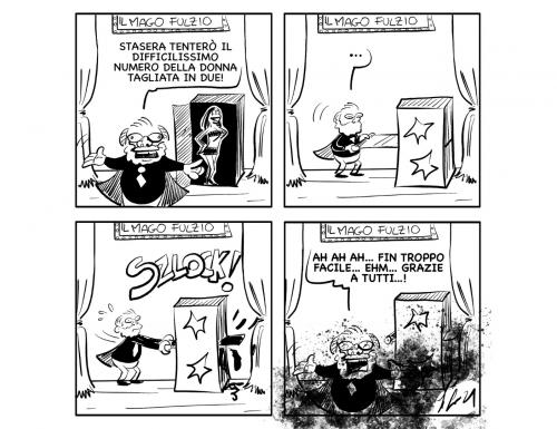 """La vignetta: """"L'ha detto!"""""""