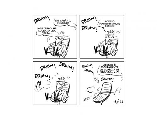 "La vignetta: ""Potrebbe essereeeee…"""