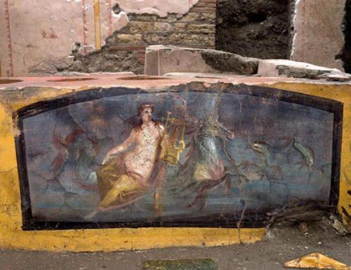 Pompei, rinvenuto il Termopolio della Regio V