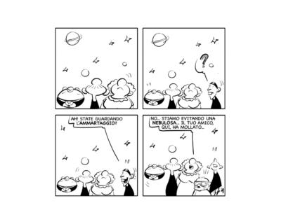 """La vignetta: """"Guardando il cielo"""""""
