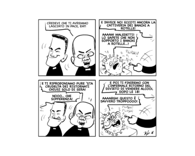 """La vignetta: """"Nooo! Questo è troppo!"""""""