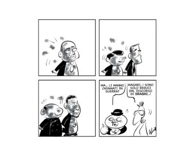 """La vignetta: """"Tutto chiaro?"""""""