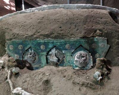 Pompei, l'ultima scoperta è il Carro da parata di Civita Giuliana