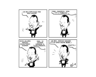 """La vignetta: """"Perché Sanremo è Sanremo!"""""""
