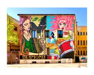 Street Art for Rights 2021. Venti giorni, nove nuove opere di arte urbana, otto artisti