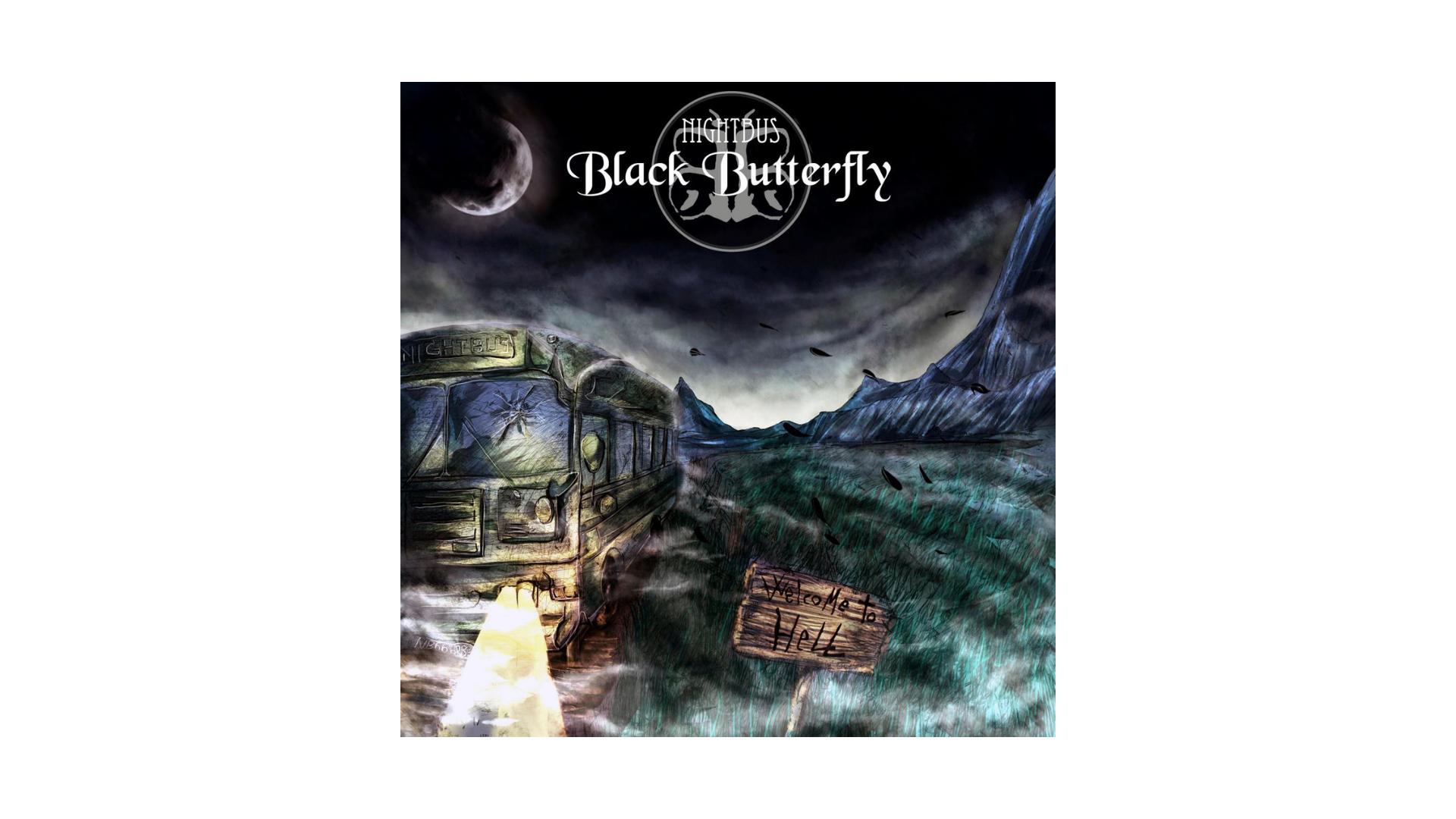 """""""Nightbus"""", Black Butterfly"""