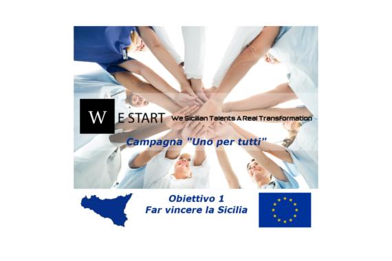 """La nuova programmazione di fondi europei e la campagna """"Uno per tutti"""" di WeStart. Obbiettivo 1 – Far vincere la Sicilia"""