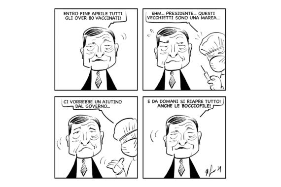 """La vignetta: """"A mali estremi…"""""""