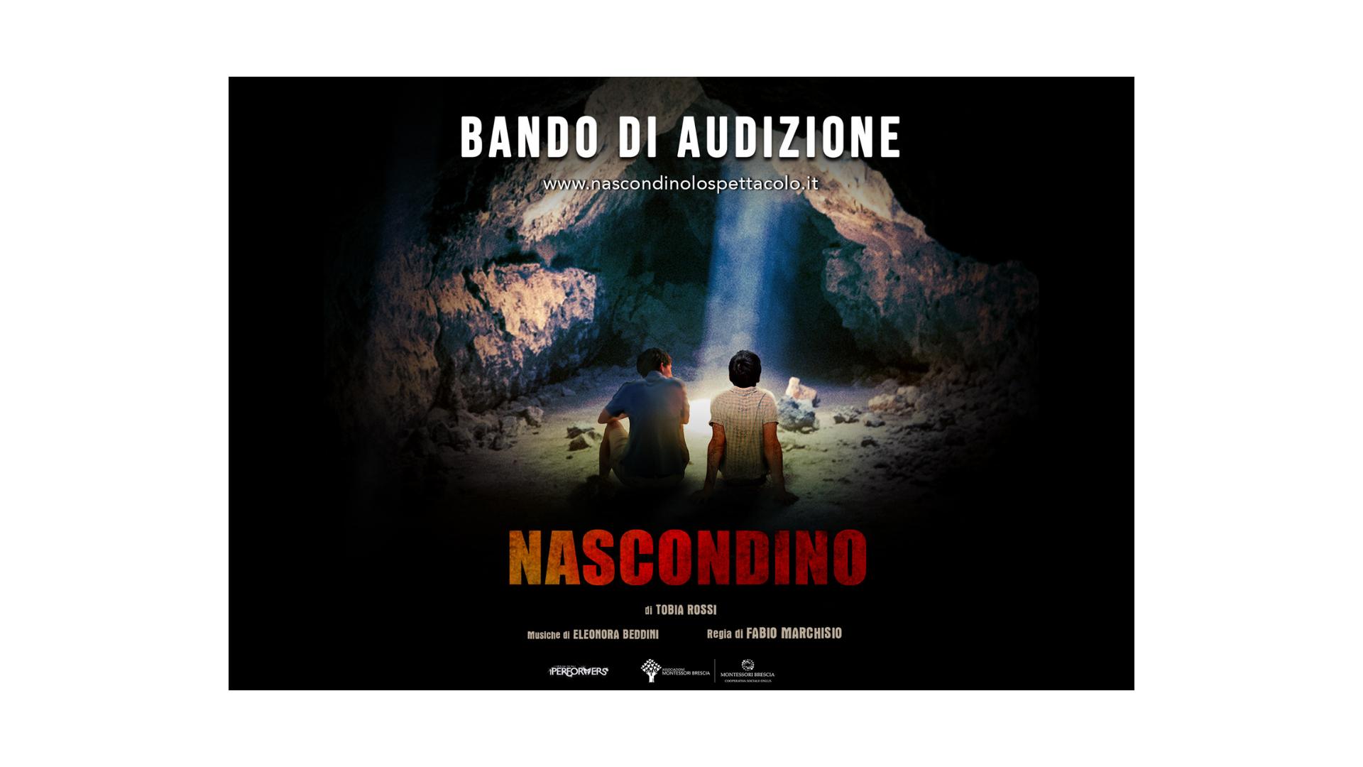 """Bando di audizioni under 16 per lo spettacolo pedagogico """"Nascondino"""", c'è tempo fino 9 maggio"""