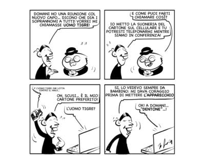 "La vignetta: ""Soprannomi"""