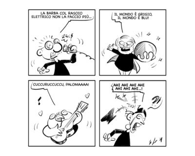 La vignetta: Omaggio al Maestro!