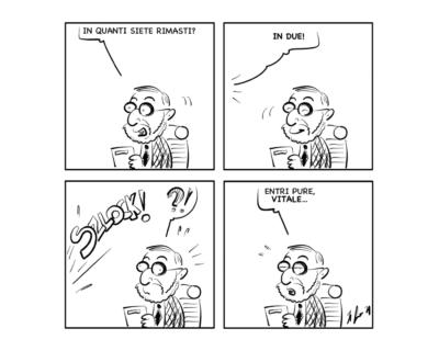 """La vignetta: """"Per essere precisi"""""""