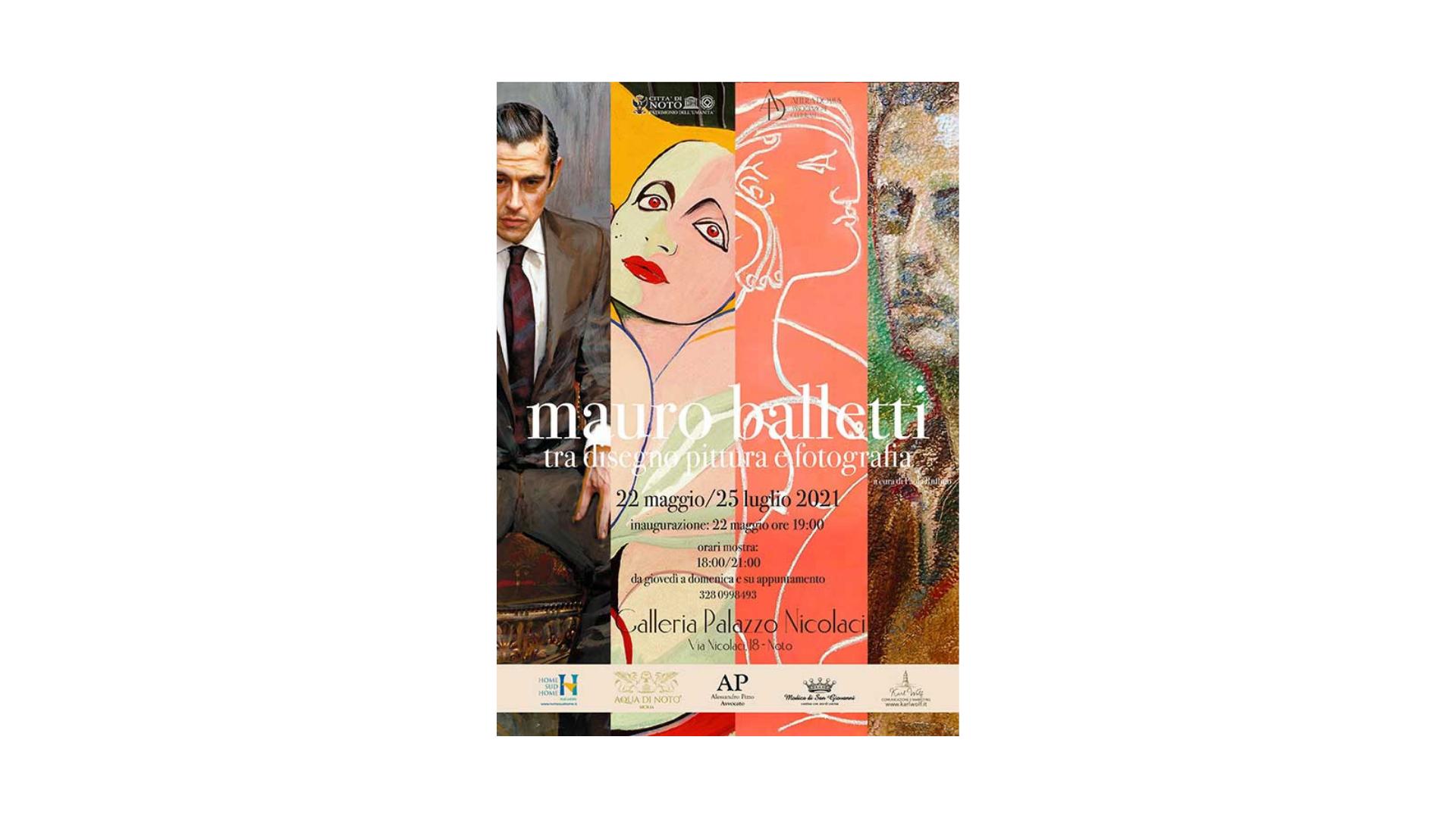 """Mauro Balletti: """"Tra disegno pittura e fotografia"""""""
