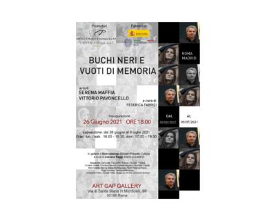 """Arte e poesia, """"Buchi neri e vuoti di memoria"""""""