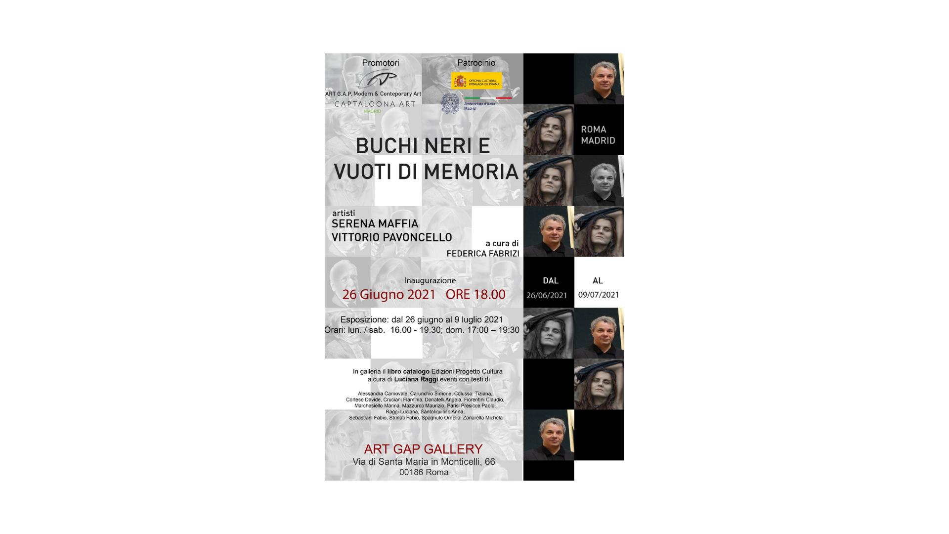 """Buchi neri e vuoti di memoria"""