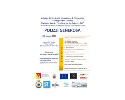"""A Polizzi Generosa (PA) """"Formare il futuro in Sicilia"""""""