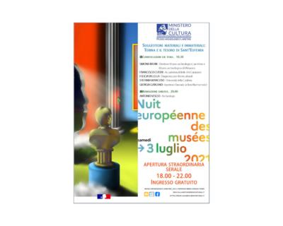 La Notte Europea dei Musei 2021 al Museo archeologico Lametino