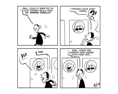 """La vignetta: """"Niente di più liberatorio di una bella…"""""""