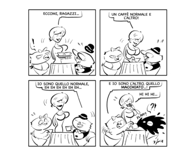 """La vignetta: """"Più lo mandi giù…"""""""