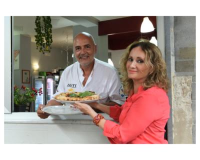 Luciano Sorbillo, in giro per l'Europa raccontando l'arte della pizza napoletana
