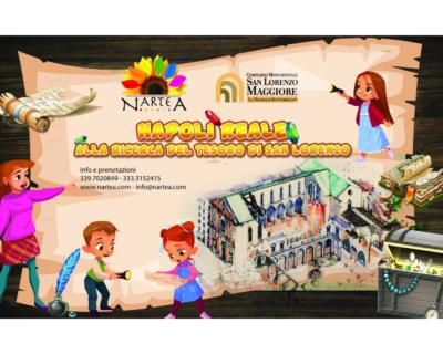 """NarteA, """"Napoli reale. Alla ricerca del tesoro di San Lorenzo"""" (24 giugno)"""