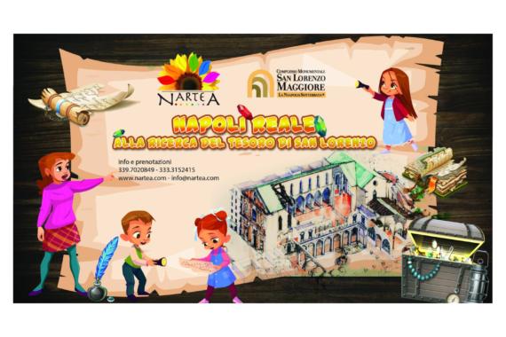 """NarteA, """"Napoli reale. Alla ricerca del tesoro di San Lorenzo"""""""
