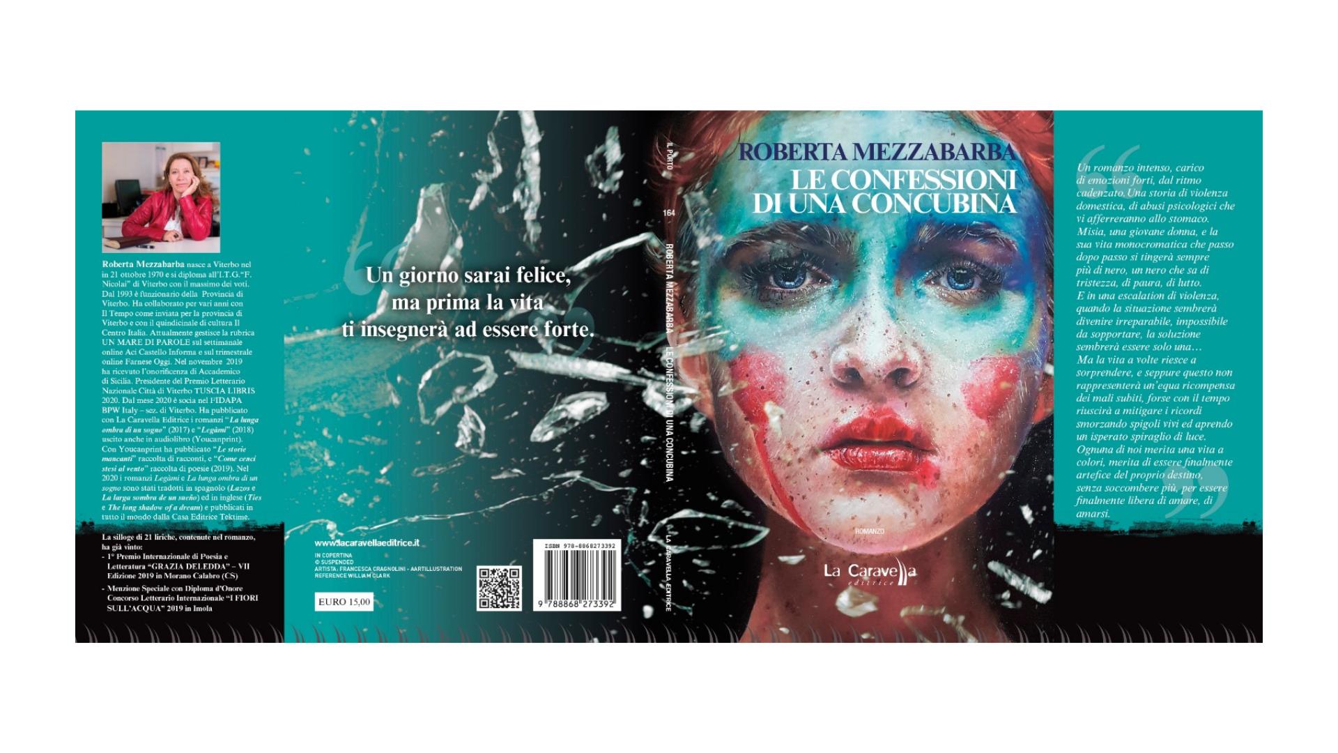 """Roberta Mezzabarba, """"Le confessioni di una concubina""""."""