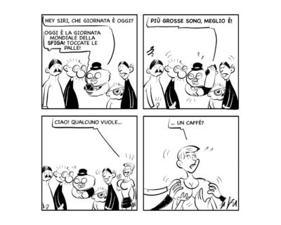"""La vignetta del giorno: """"Punti di vista"""""""