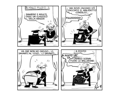 """La vignetta del giorno: """"Magia pura"""""""