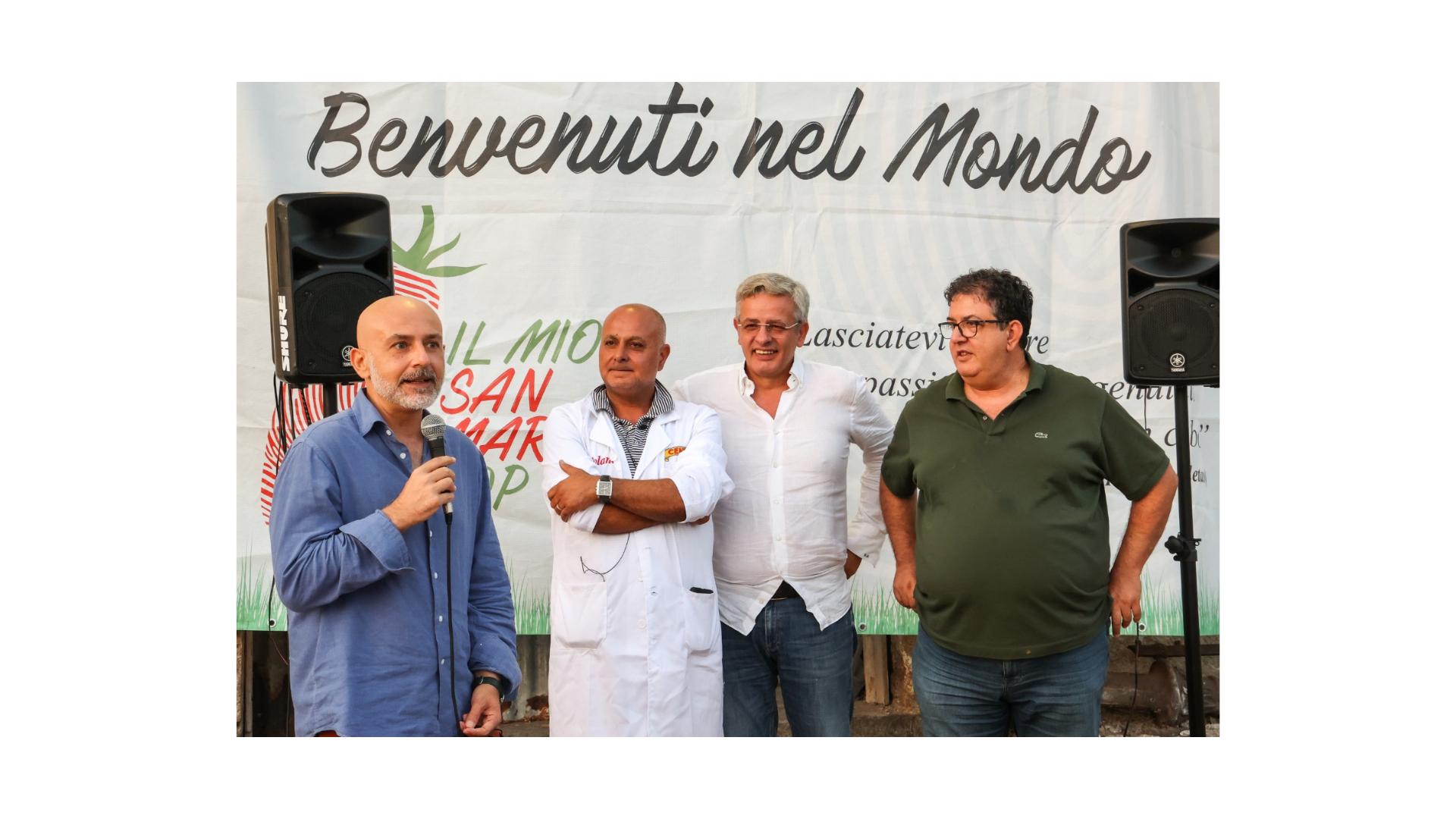 Il San Marzano vero ambasciatore dell'agroalimentare italiano