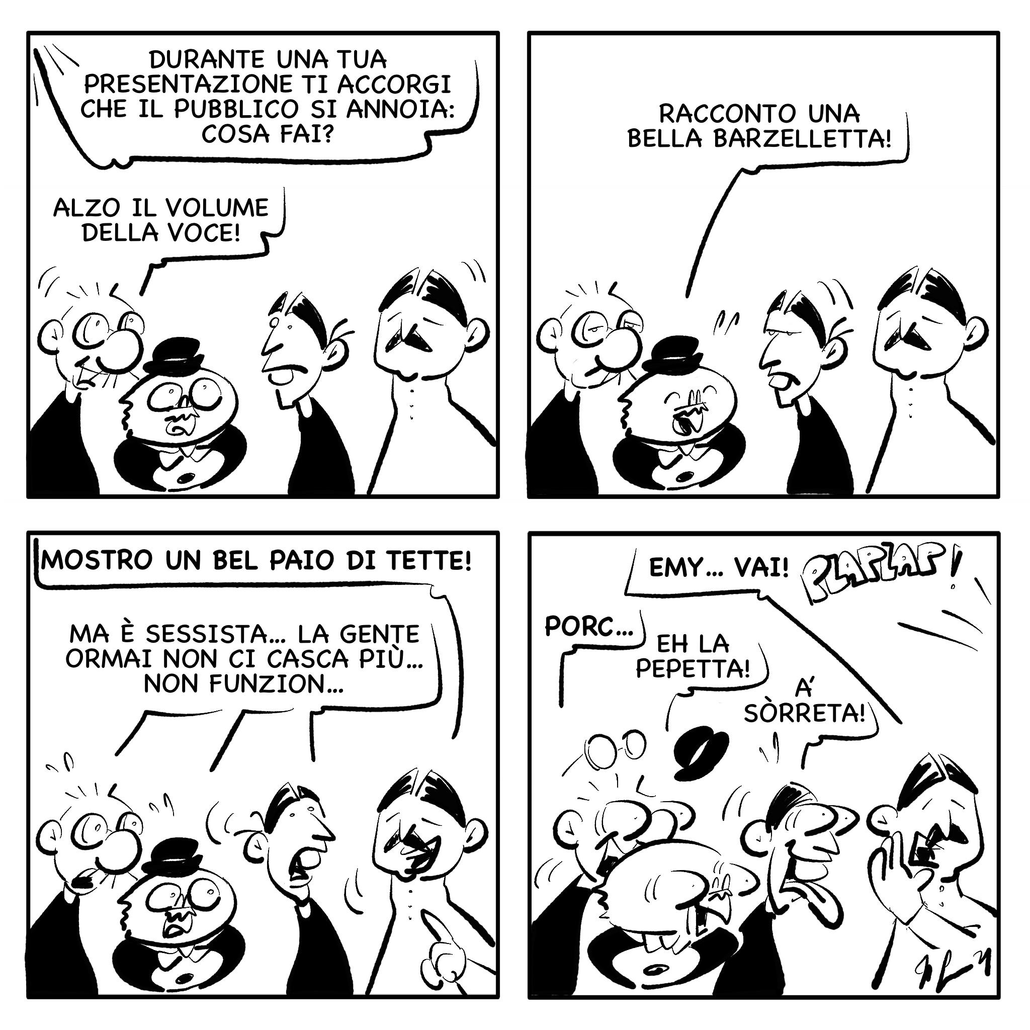 """La vignetta del giorno, 6 agosto 2021: """"Cliché"""""""